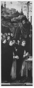 De H. Jacobus en stichtersportretten