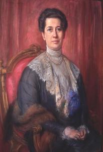 Portret van Tjalda Anna Petronella Hoorweg (1864-1922)