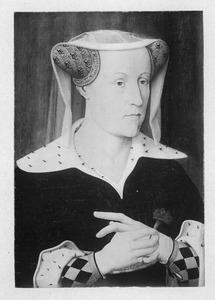 Portret van Jacoba van Beieren (1401-1436), gravin van Holland en Zeeland
