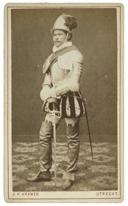 Portret van Johan Anton Ament (1859-1912) als Baron van Fresin