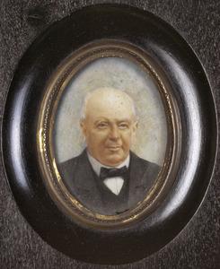 Portret van Franc Willem van der Goes (1834-1910)