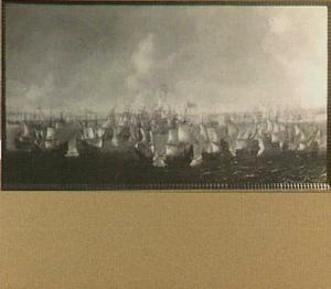Zeeslag tussen een Hollandse en een Spaanse vloot