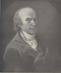 Zelfportret van Christoph Hillner (1745-1812)