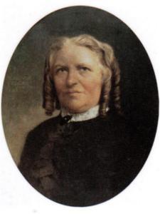 Portret van Eliza Carolina Ferdinanda Schiotling (1822-1904)