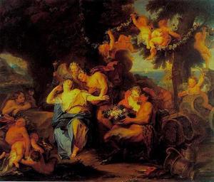 Bacchus vind Ariadne op Naxos