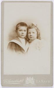 Portret van Jan Jacob van Geuns (1893-1959) en Johanna Elisabeth van Geuns (1895-1970)