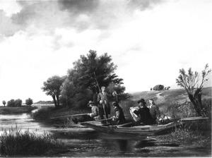 Een vispartij