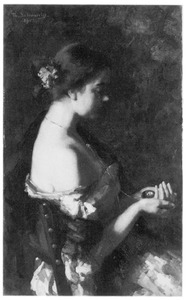 Portret van Theresia Ansingh (1883-1968)