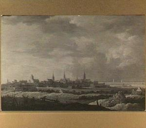 Gezicht op Dordrecht