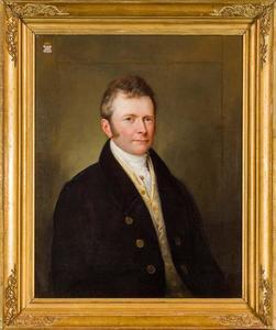 Portret van Christien Jaques Adrien  van Nagell (1784-1883)