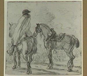 Ruiters en paarden