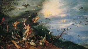 Allegorie van de lucht