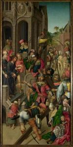 Christus wordt het Praetorium uitgeleid