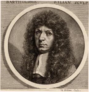 Portret van Bartholomaus Kilian (1630-1696)