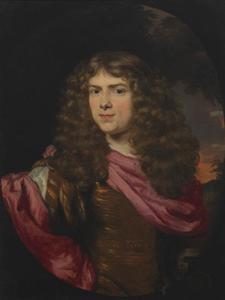 Portret van Justus van Hoogenhouck (1644-1714)