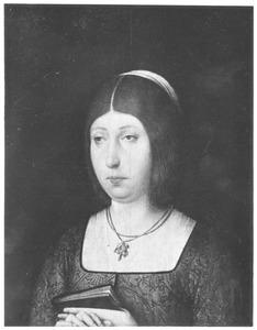 Portret van Isabella van Castilië (1451-1504), echtgenote van Ferdinand van Aragon