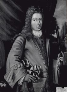 Portret van Pieter Edzard van Harinxma thoe Slooten (1682-1708)