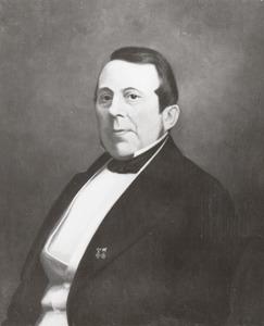 Portret van Johan Christiaan van Haersolte van Haerst (1809-1881)