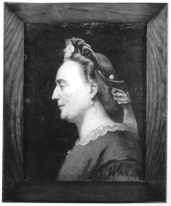 Portret van Cornelia Ages Tromp (1823-1867)