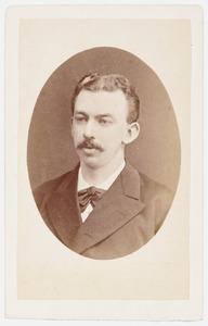 Portret van een man, mogelijk Fredrik van Reenen (1850-1916)