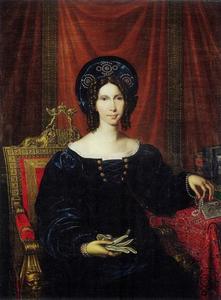 Portret van Wilhelmina van Pruisen (1774-1837), koningin der Nederlanden