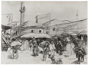 Markt te Constantinopel