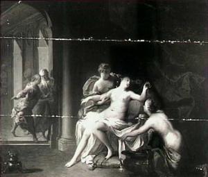 Gyges in de slaapkamer van koning Candaules (Herodotus