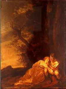 Een liefdespaar (Granida en Daifilo?)