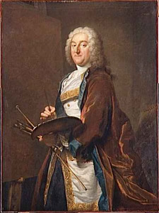 Portret van Jean-François de Troy (1679-1752)