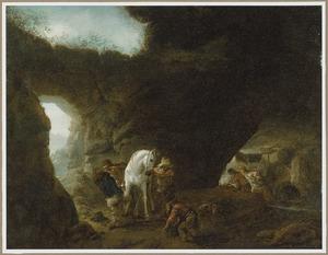 Hoefsmid in een grot