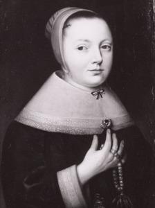 Portret van Maria Sijdervelt (1642-1709)