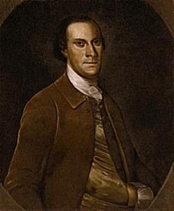 Portret van brigadier generaal John Dent
