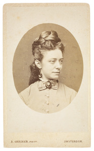 Portret van Catharina Anna Kouwenberg (1850-...)