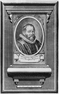 Portret van Antonius Thysius (1565-1640)