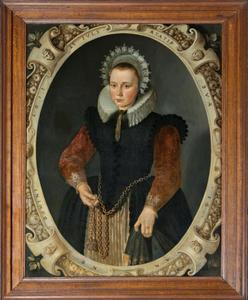 Portret van Margaretha Heynckens