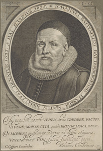 Portret van Johannes Battenfeldt (1561-1633)