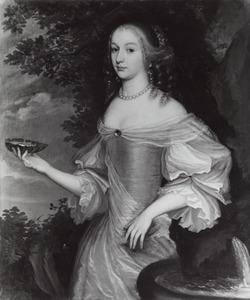 Portret van Amalia Margaretha van Brederode (....-....)