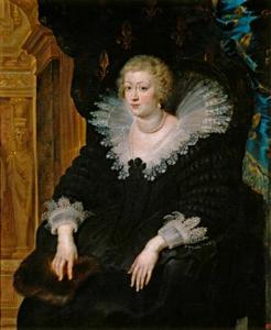 Portret van Anna van Oostenrijk, koningin van Frankrijk