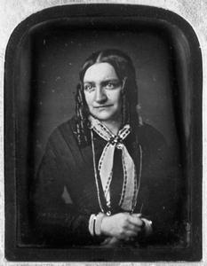 Portret van Anna Maria de Visser (1819-1892)