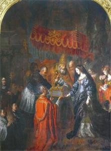 Overdracht van de relikwieën van de heilige Julian