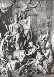 Allegorie op de glorie van Rome