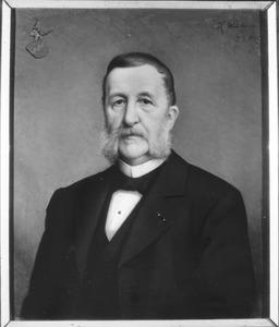 Portret van Carolus Antonius Ludovicus van Hugenpoth tot Aerdt (1825-1907)