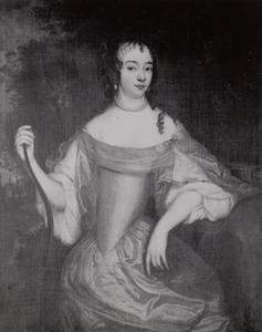 Portret van Maria van Oranje- Nassau (1642-1688)