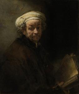 Zelfportret als de apostel Paulus