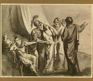 Het vertrek van Briseis (Ilias 1:345 e.v.)