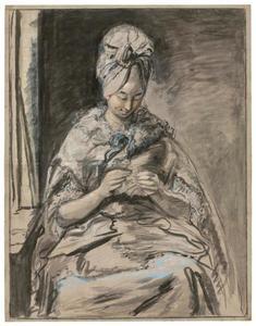 Portret van Maria Lambertine Coclers (1761-?)