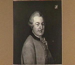 Portret van Lambert Jacob van Tets (1716-1758), echtgenoot van Johanna Cornelia Vrolikhart