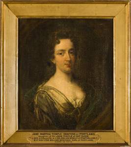 Portret van Jane Martha Temple (1672-1751)