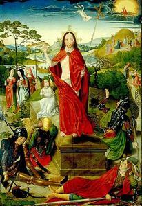 De opstanding (binnenzijde rechterluik)