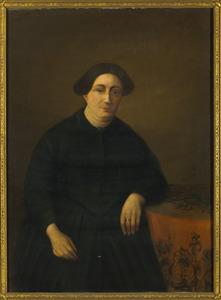 Portret van Geertruida Wilhelmina Maas (1809-1853)